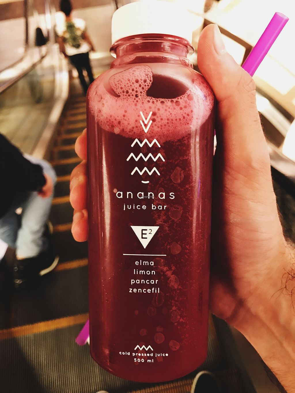 "Photo of Ananas Juice Bar  by <a href=""/members/profile/veganoteacher"">veganoteacher</a> <br/>E2 Juice <br/> July 9, 2017  - <a href='/contact/abuse/image/74736/278114'>Report</a>"