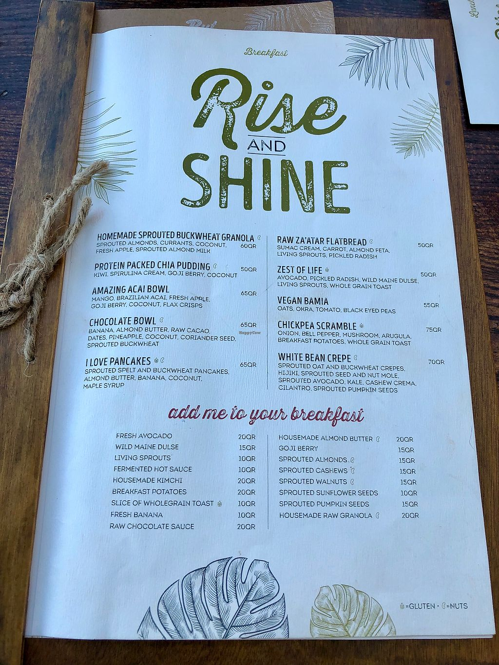 "Photo of Evergreen Organics  by <a href=""/members/profile/RayB"">RayB</a> <br/>Breakfast menu  <br/> January 25, 2018  - <a href='/contact/abuse/image/74739/350690'>Report</a>"