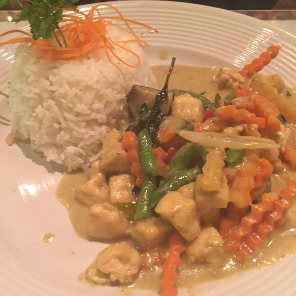 """Photo of Jay's Thai Kitchen  by <a href=""""/members/profile/Ellenkm"""">Ellenkm</a> <br/>green curry <br/> June 26, 2016  - <a href='/contact/abuse/image/74740/156137'>Report</a>"""