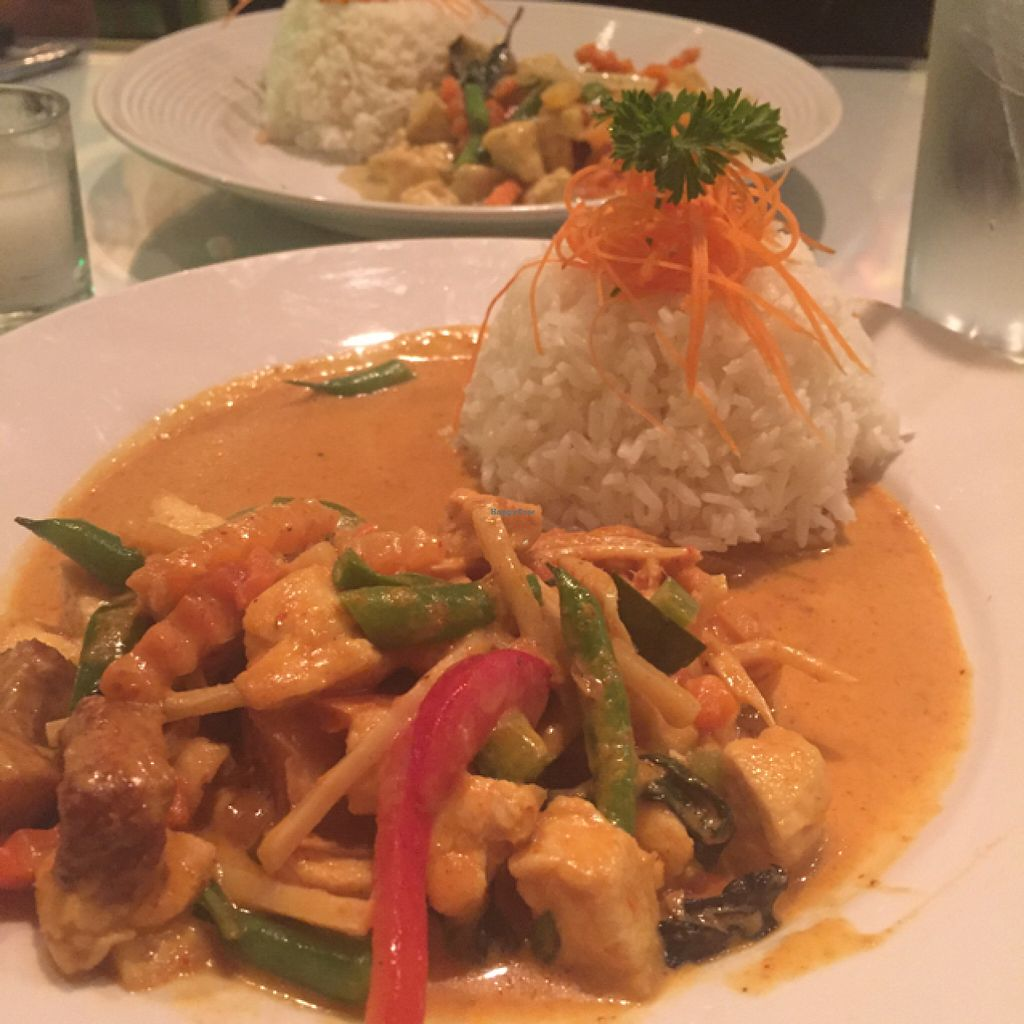 """Photo of Jay's Thai Kitchen  by <a href=""""/members/profile/Ellenkm"""">Ellenkm</a> <br/>red curry <br/> June 26, 2016  - <a href='/contact/abuse/image/74740/156138'>Report</a>"""