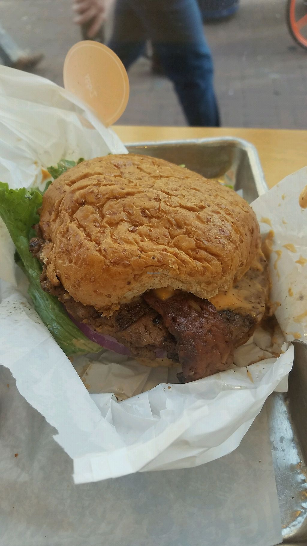 """Photo of HipCityVeg  by <a href=""""/members/profile/Sir.RyanJohnson"""">Sir.RyanJohnson</a> <br/>ziggy burger <br/> December 16, 2017  - <a href='/contact/abuse/image/74759/336189'>Report</a>"""