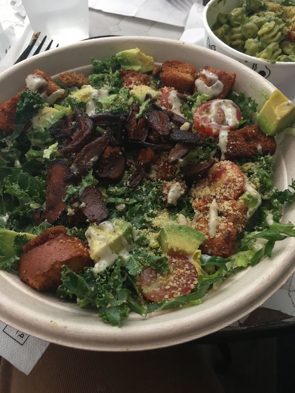 """Photo of By Chloe  by <a href=""""/members/profile/AlexandraPhillips"""">AlexandraPhillips</a> <br/>Caesar salad  <br/> July 4, 2017  - <a href='/contact/abuse/image/74813/276762'>Report</a>"""