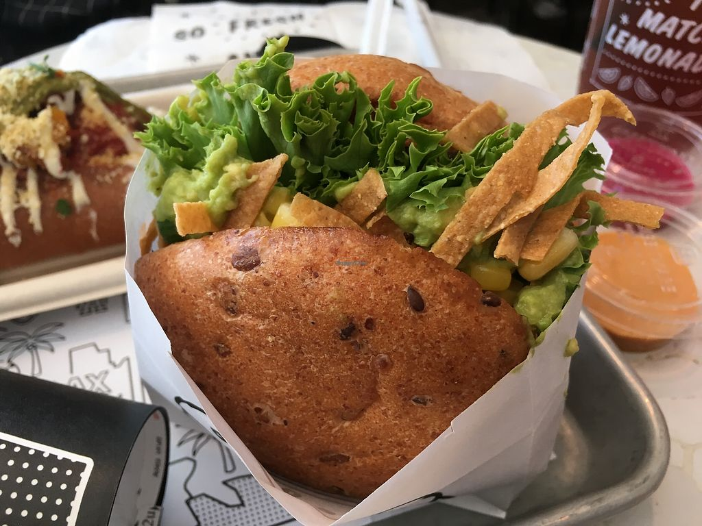 """Photo of By Chloe  by <a href=""""/members/profile/AlexandraPhillips"""">AlexandraPhillips</a> <br/>Guacamole burger  <br/> July 4, 2017  - <a href='/contact/abuse/image/74813/276764'>Report</a>"""