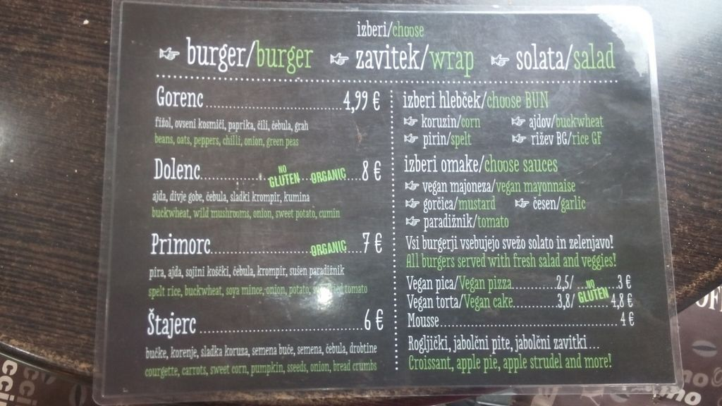 """Photo of CLOSED: Zaziv Vegan Bistro  by <a href=""""/members/profile/sanne.cottaar"""">sanne.cottaar</a> <br/>Menu <br/> September 22, 2016  - <a href='/contact/abuse/image/74820/177473'>Report</a>"""