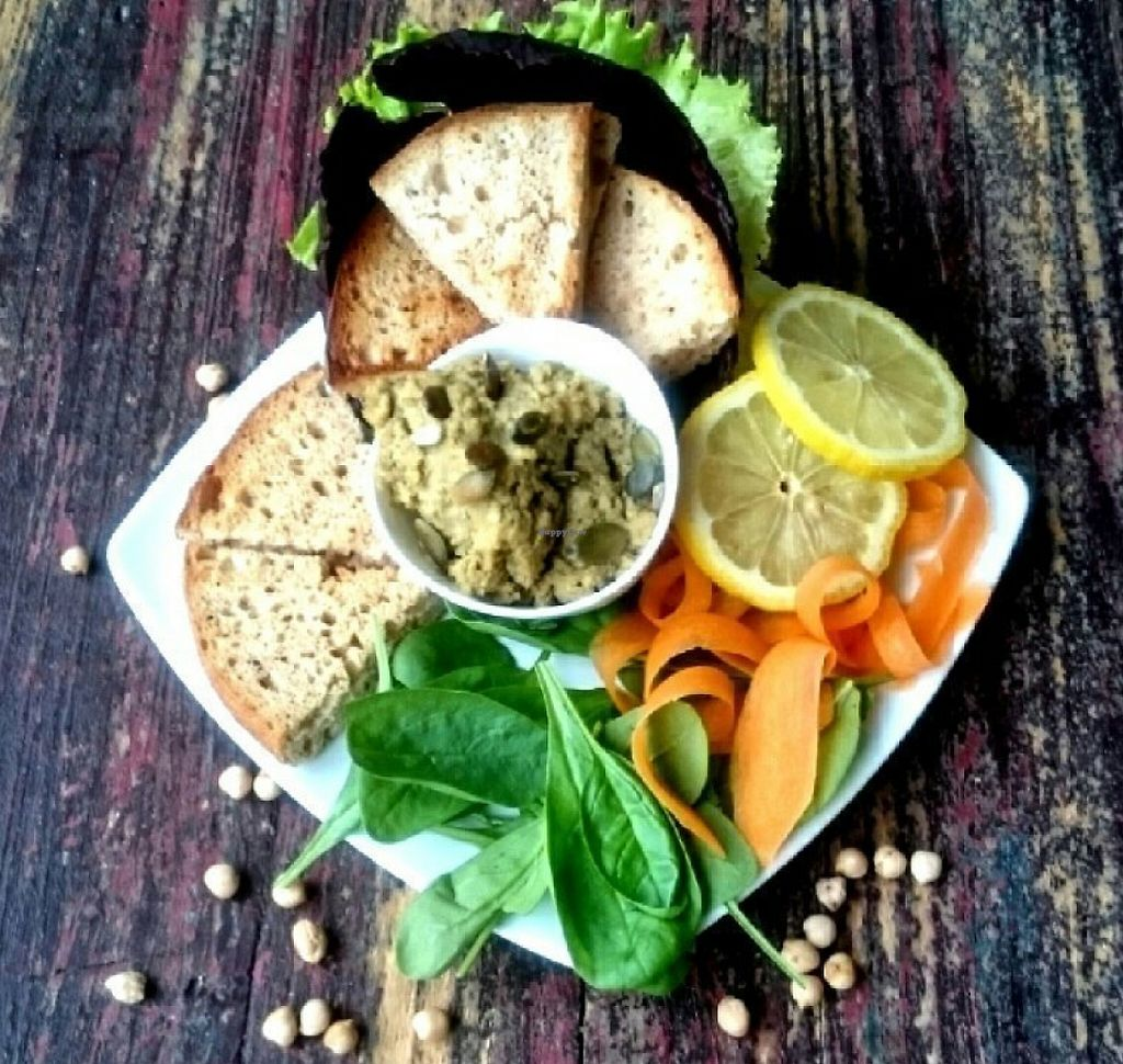 """Photo of CLOSED: Zaziv Vegan Bistro  by <a href=""""/members/profile/AdrianaLauraF"""">AdrianaLauraF</a> <br/>Hummus breakfast <br/> July 15, 2016  - <a href='/contact/abuse/image/74820/243815'>Report</a>"""