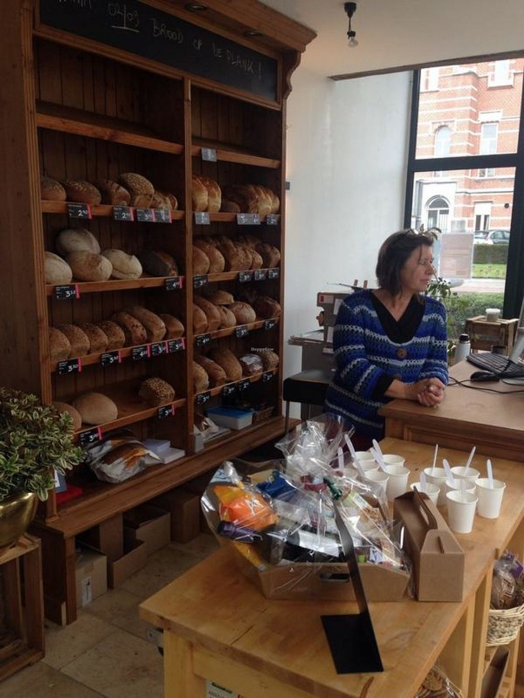 """Photo of CLOSED: Happy Food Store  by <a href=""""/members/profile/KrisRussel"""">KrisRussel</a> <br/>bread section and register <br/> June 12, 2016  - <a href='/contact/abuse/image/74830/153616'>Report</a>"""