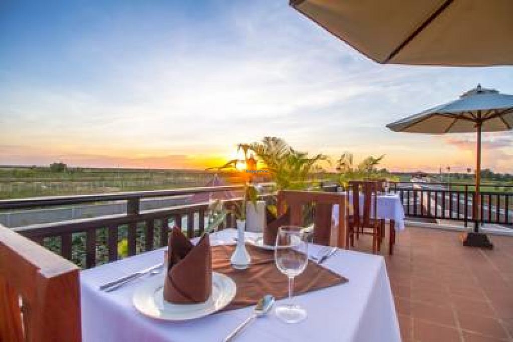 """Photo of CLOSED: Jerry's Kitchen at Ry's Lotus Resort  by <a href=""""/members/profile/jerald"""">jerald</a> <br/>Over the pool we have panoramic rooftop dinning of our 100% vegetarian food cooked as you like it...Brown rice or fluffy white basmati rice with your  deliciously cooked meals.  <br/> June 26, 2016  - <a href='/contact/abuse/image/74831/156187'>Report</a>"""