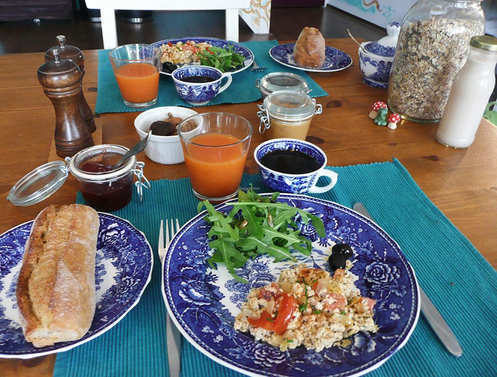 """Photo of FireJuice  by <a href=""""/members/profile/BenvanKempen"""">BenvanKempen</a> <br/>Breakfast at the FireJuice. Vegan and organic <br/> June 17, 2016  - <a href='/contact/abuse/image/74833/154419'>Report</a>"""