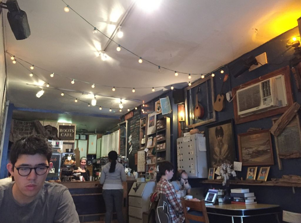 """Photo of Roots Cafe  by <a href=""""/members/profile/Laulaulaureen"""">Laulaulaureen</a> <br/>this adorable hole in the wall <br/> October 2, 2016  - <a href='/contact/abuse/image/74855/209460'>Report</a>"""