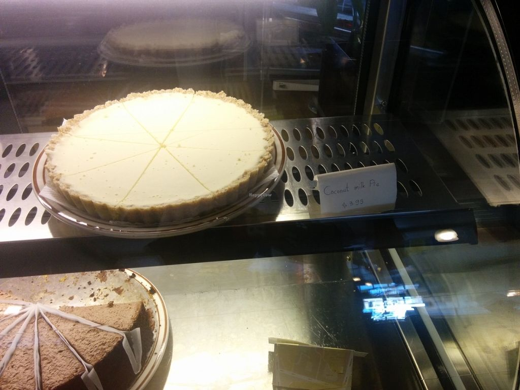 """Photo of Shangri-La Vegan - Telegraph  by <a href=""""/members/profile/MizzB"""">MizzB</a> <br/>Raw coconut pie <br/> June 10, 2016  - <a href='/contact/abuse/image/74865/153248'>Report</a>"""
