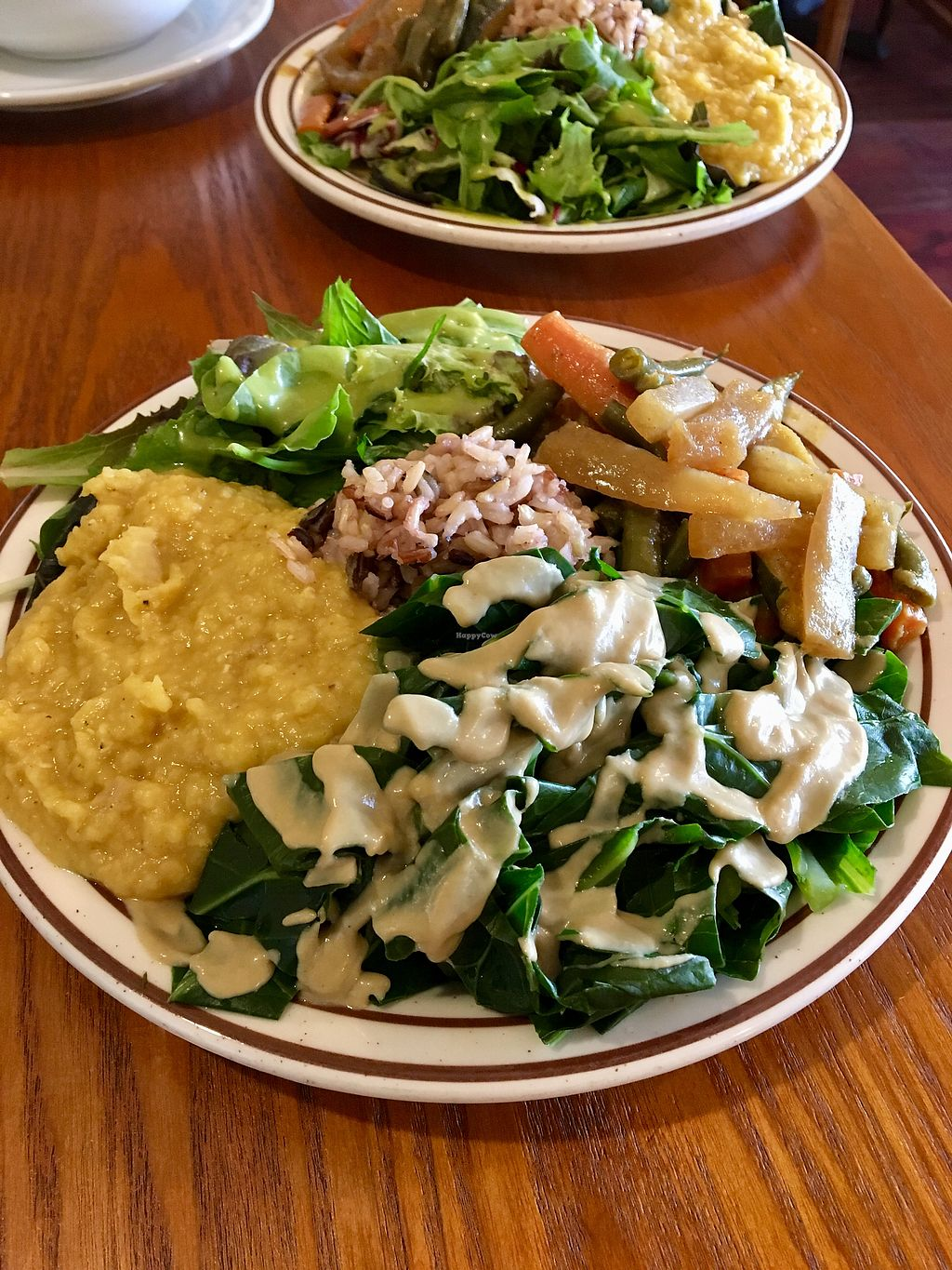 """Photo of Shangri-La Vegan - Telegraph  by <a href=""""/members/profile/Clean%26Green"""">Clean&Green</a> <br/>Moderate plate <br/> December 4, 2017  - <a href='/contact/abuse/image/74865/332136'>Report</a>"""