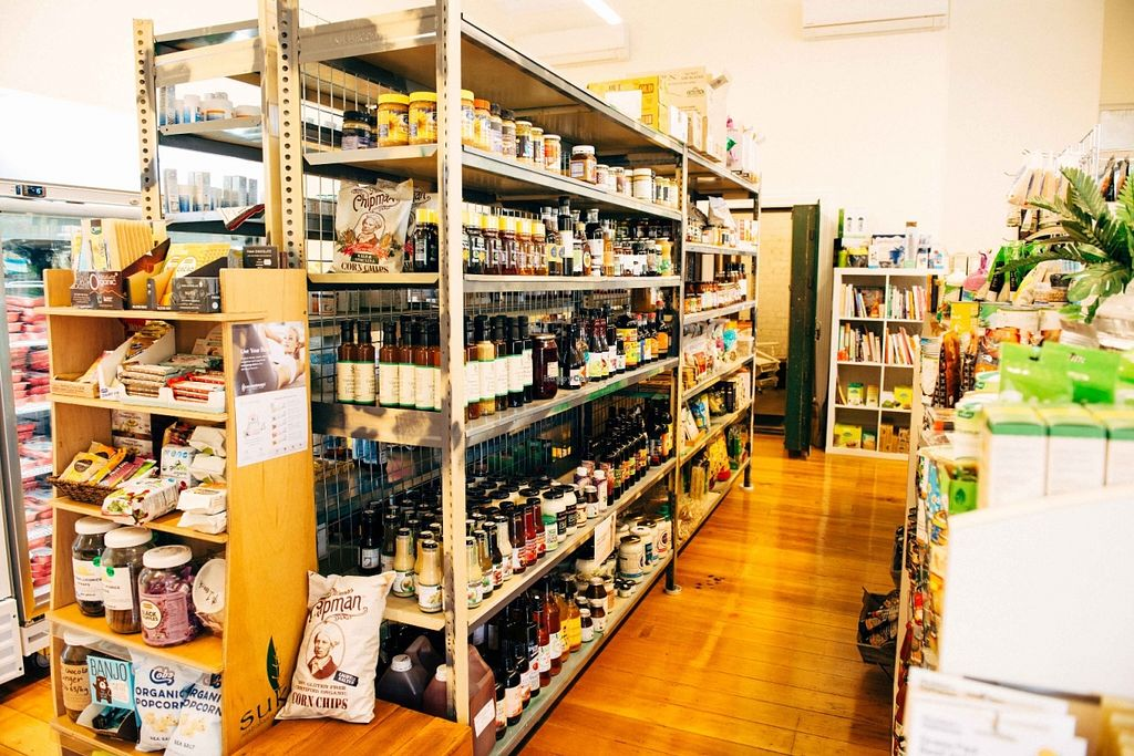 """Photo of Poppi's Health Food Store & Wholefood Cafe  by <a href=""""/members/profile/Poppis"""">Poppis</a> <br/>A fantastic range of local and unique, gourmet and organic products. Along with bulk seeds, legumes, flours, beans and nuts, we also stock everyday healthy pantry items, eco-friendly skincare, cleaning products and of course a great range of fresh fruit and vegetables <br/> June 21, 2016  - <a href='/contact/abuse/image/74902/155234'>Report</a>"""
