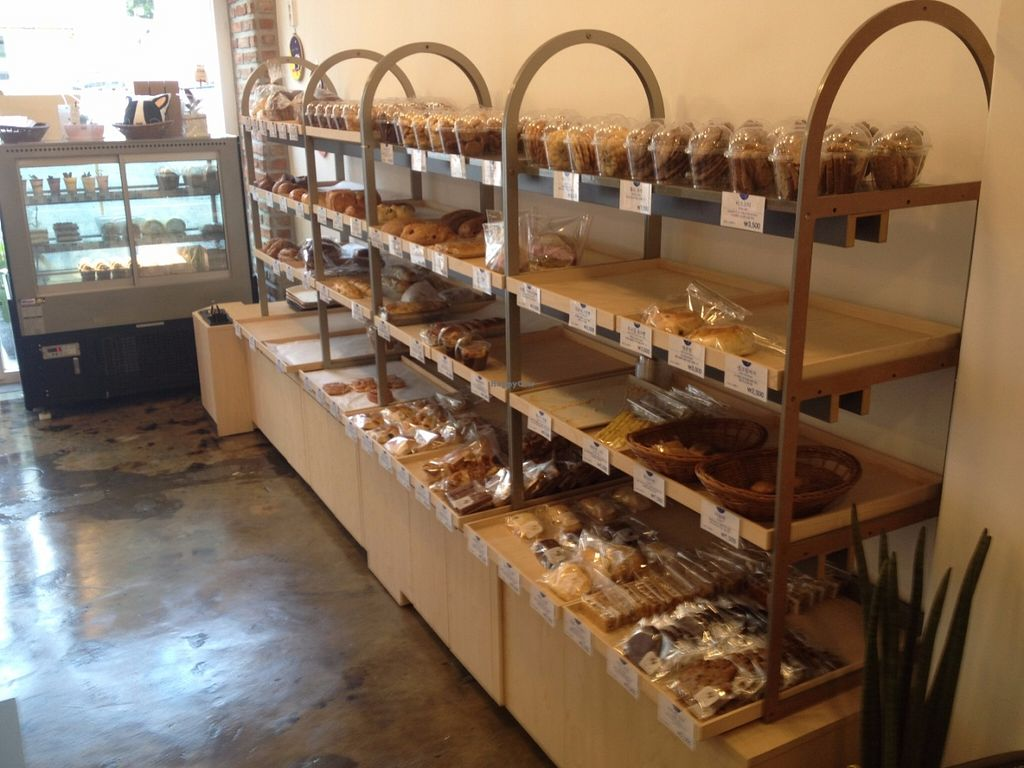 """Photo of Haemil Bakery  by <a href=""""/members/profile/Emomeow"""">Emomeow</a> <br/>Lots of vegan choices <br/> June 11, 2016  - <a href='/contact/abuse/image/74914/153439'>Report</a>"""