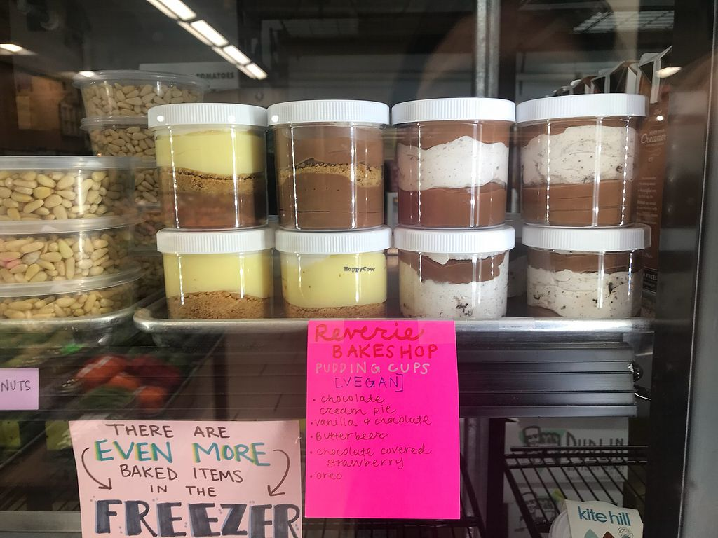 "Photo of Farmers Market of Grapevine  by <a href=""/members/profile/Tata"">Tata</a> <br/>Yummy pudding! Different flavors, they come in layers similar to Tiramisu.  <br/> March 6, 2018  - <a href='/contact/abuse/image/74915/367281'>Report</a>"