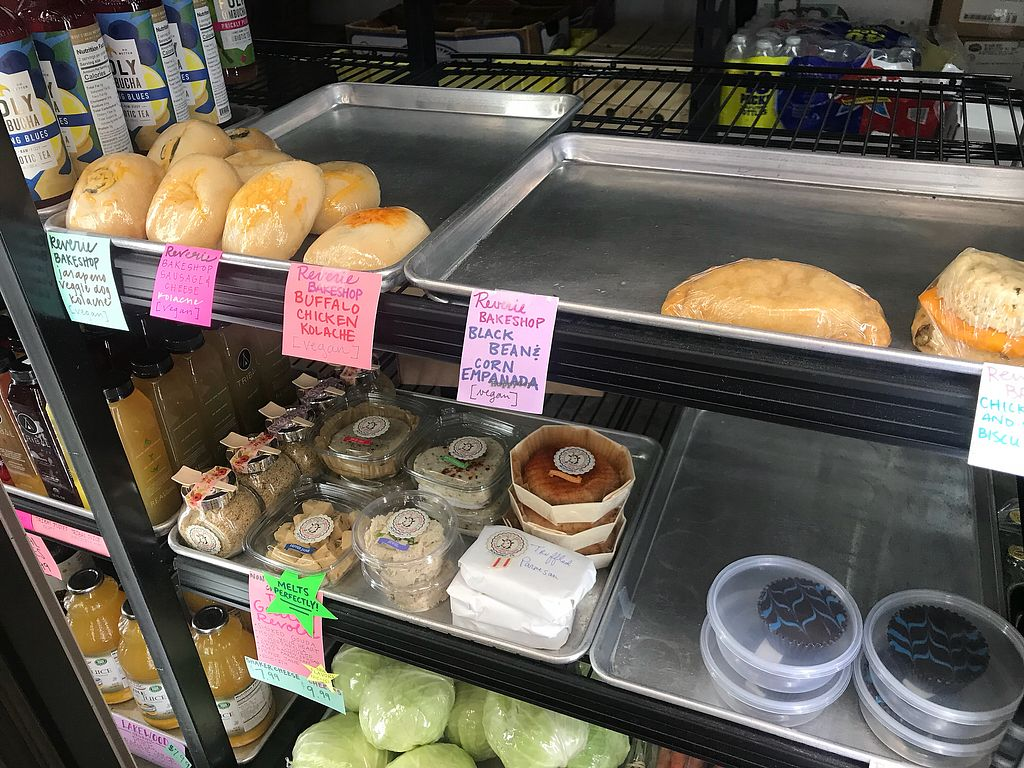 "Photo of Farmers Market of Grapevine  by <a href=""/members/profile/Tata"">Tata</a> <br/>Reverie Kolache, empanada, cheese biscuit and chocolate peanut butter cups, and Goats Revolt cheeses <br/> March 6, 2018  - <a href='/contact/abuse/image/74915/367282'>Report</a>"