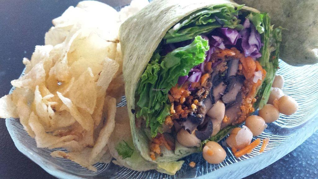 "Photo of Aloe Vera's Eatery  by <a href=""/members/profile/American%20Vegan"">American Vegan</a> <br/>Portobello garbanzo olive vegan wrap <br/> July 16, 2016  - <a href='/contact/abuse/image/74918/160265'>Report</a>"