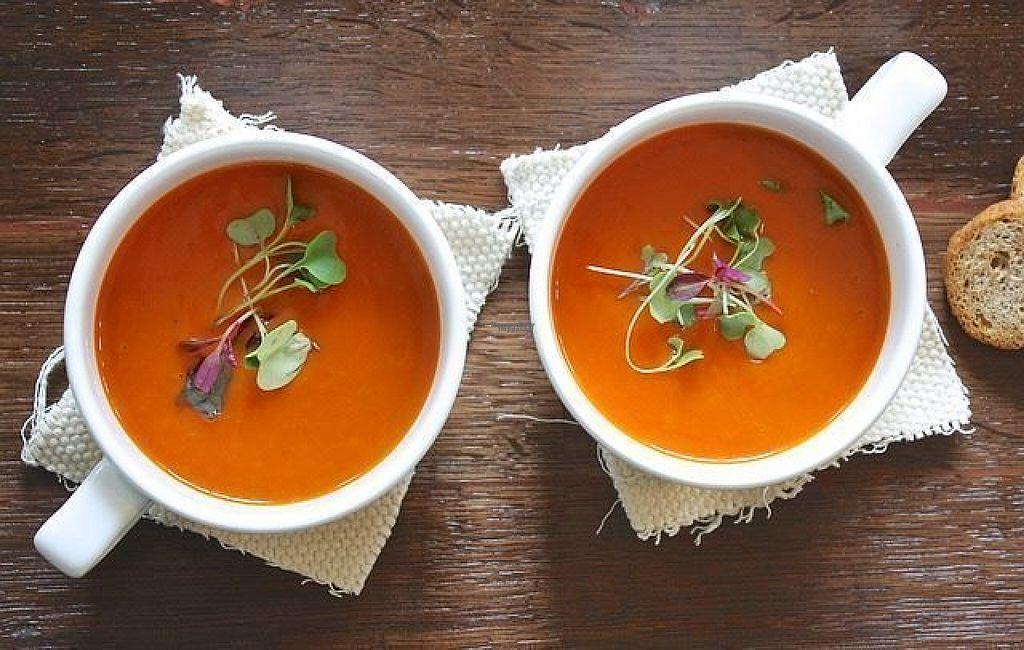 """Photo of Zupabar  by <a href=""""/members/profile/Dymphna"""">Dymphna</a> <br/>tomato soup <br/> August 19, 2016  - <a href='/contact/abuse/image/74926/170134'>Report</a>"""