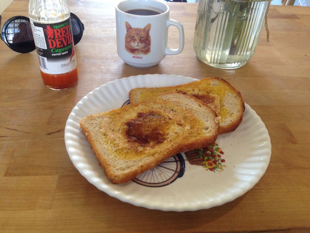 """Photo of Brooklyn Whiskers - Bushwick  by <a href=""""/members/profile/jdfunks"""">jdfunks</a> <br/>daily special: eggy in a basket - way good  <br/> June 19, 2016  - <a href='/contact/abuse/image/74976/154903'>Report</a>"""