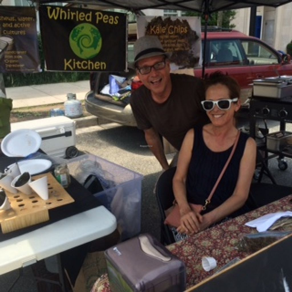 """Photo of Whirled Peas Kitchen  by <a href=""""/members/profile/Allanriv"""">Allanriv</a> <br/>Whirled Peas Kitchen serving international vegan favorites every Saturday in the Glover Park Farmers Market.  Also in the CFM Bethesda Farmers Market on Sundays and Rhode Island Ave Row Market on Thursday Evenings <br/> June 15, 2016  - <a href='/contact/abuse/image/75022/154102'>Report</a>"""