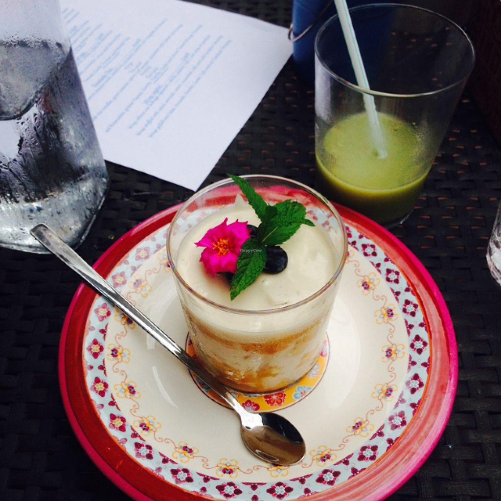"""Photo of CLOSED: Sunrise Eatery and More  by <a href=""""/members/profile/FoodieJo"""">FoodieJo</a> <br/>the best vegan tiramisu I ever had <br/> July 8, 2016  - <a href='/contact/abuse/image/75027/158429'>Report</a>"""