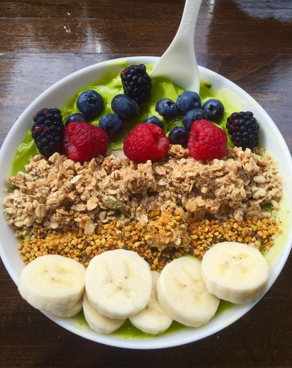 """Photo of Degree 18 Juice Bar  by <a href=""""/members/profile/zoomerwit"""">zoomerwit</a> <br/>Smoothie bowls <br/> June 13, 2016  - <a href='/contact/abuse/image/75056/153777'>Report</a>"""