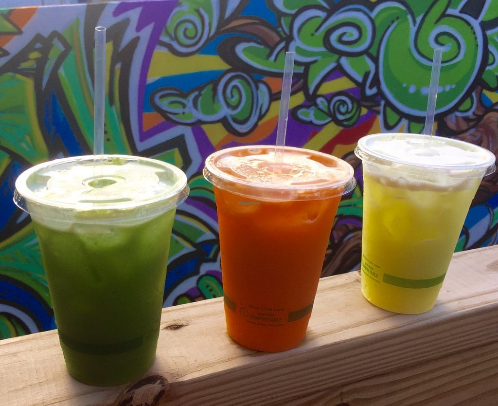 """Photo of Degree 18 Juice Bar  by <a href=""""/members/profile/zoomerwit"""">zoomerwit</a> <br/>Fresh juice! <br/> June 13, 2016  - <a href='/contact/abuse/image/75056/153782'>Report</a>"""