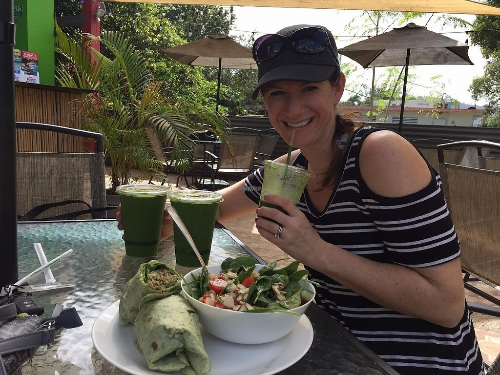 """Photo of Degree 18 Juice Bar  by <a href=""""/members/profile/mangelm26"""">mangelm26</a> <br/>Green Smoothies!! <br/> February 15, 2017  - <a href='/contact/abuse/image/75056/226981'>Report</a>"""