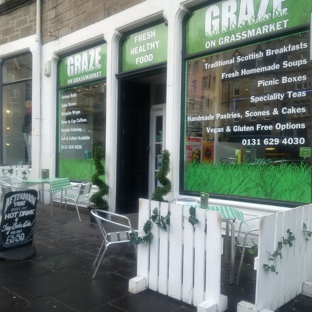 "Photo of Graze on Grassmarket  by <a href=""/members/profile/GrazeOn"">GrazeOn</a> <br/>Healthy fresh food deli cafe <br/> June 15, 2016  - <a href='/contact/abuse/image/75059/154089'>Report</a>"
