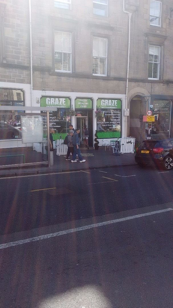 "Photo of Graze on Grassmarket  by <a href=""/members/profile/craigmc"">craigmc</a> <br/>Hard to miss <br/> August 30, 2016  - <a href='/contact/abuse/image/75059/172440'>Report</a>"