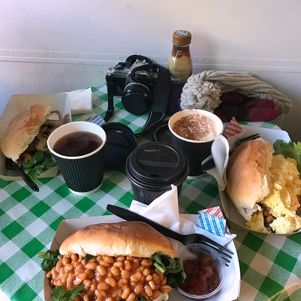"Photo of Graze on Grassmarket  by <a href=""/members/profile/kkylaye"">kkylaye</a> <br/>vegan baked beans roll for breakfast <br/> February 8, 2018  - <a href='/contact/abuse/image/75059/356303'>Report</a>"