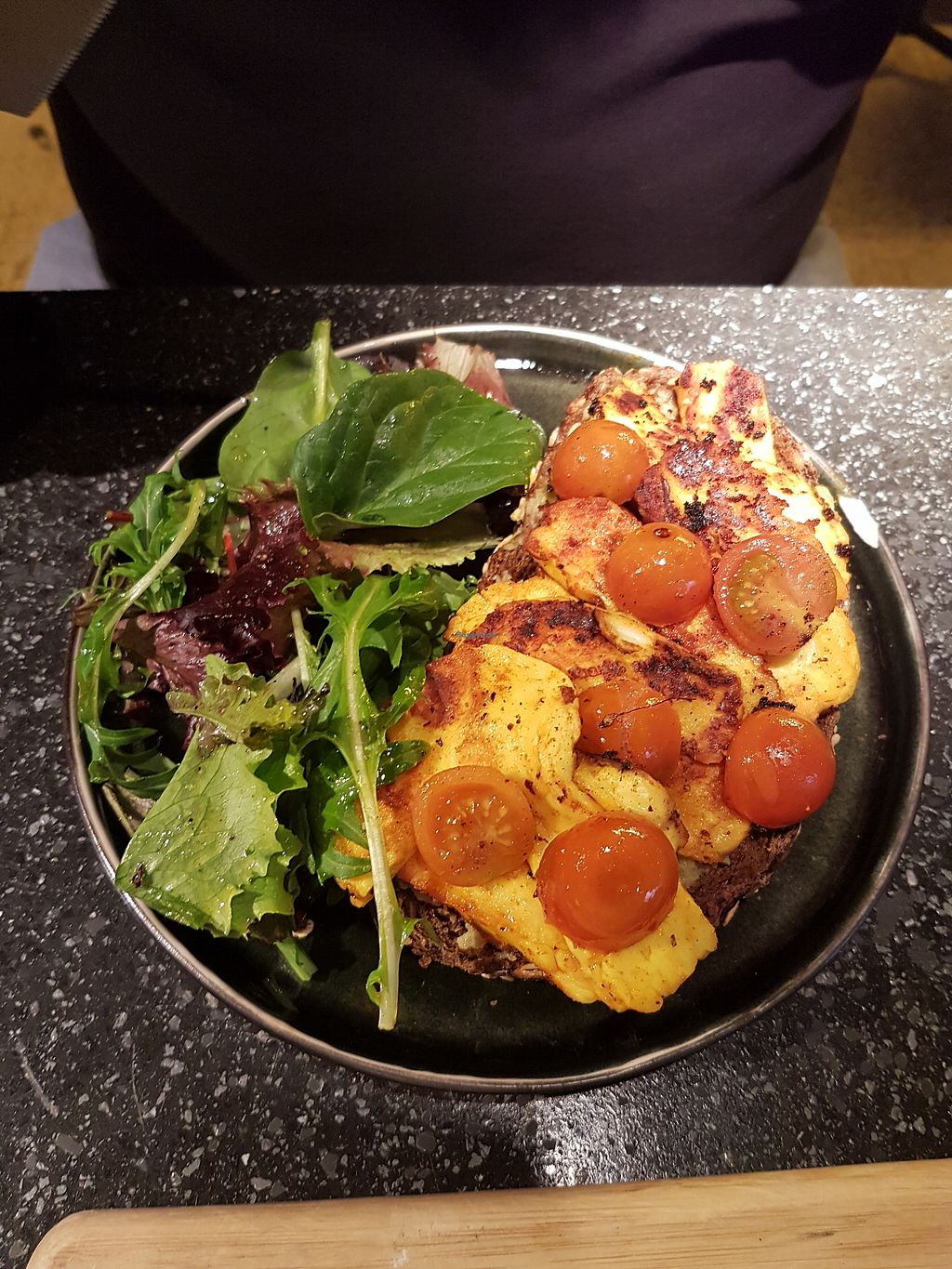 """Photo of Coffeelabs  by <a href=""""/members/profile/Liesbeth"""">Liesbeth</a> <br/>Grilled halloumi <br/> March 15, 2018  - <a href='/contact/abuse/image/75095/370906'>Report</a>"""