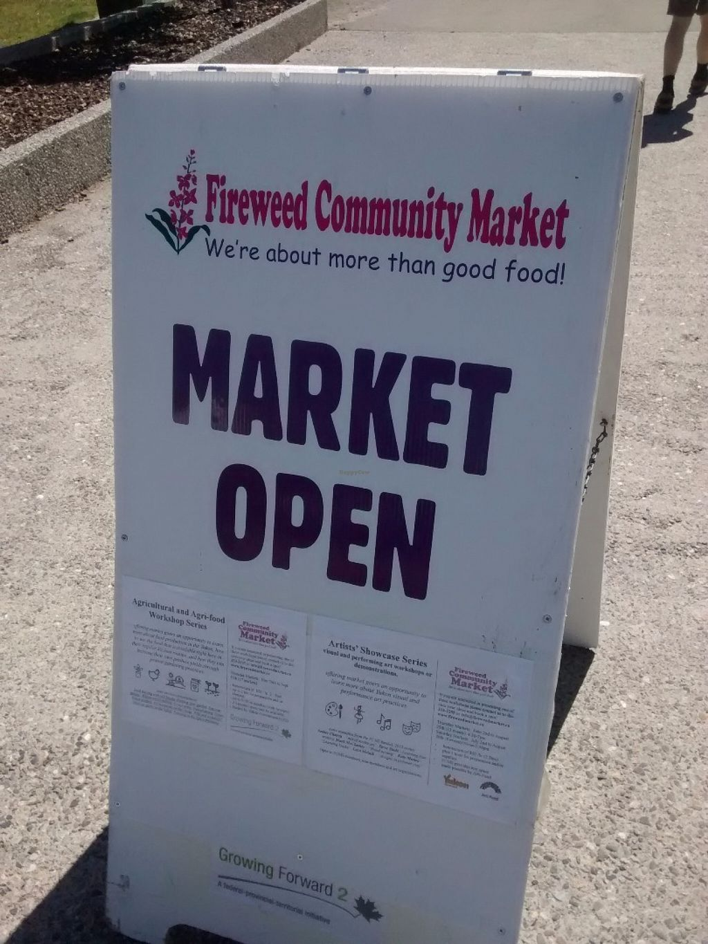 "Photo of Fireweed Community Market   by <a href=""/members/profile/QuothTheRaven"">QuothTheRaven</a> <br/>Sign <br/> June 16, 2016  - <a href='/contact/abuse/image/75106/154370'>Report</a>"