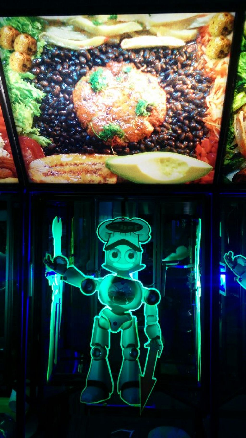 """Photo of CLOSED: Los Robots  by <a href=""""/members/profile/LosRobots"""">LosRobots</a> <br/>Vegan Restaurant attended by Robots <br/> June 15, 2016  - <a href='/contact/abuse/image/75123/154090'>Report</a>"""