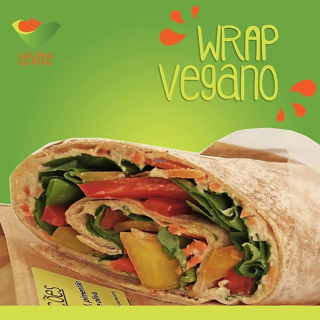 Photo of Levite  by Levite <br/>Our incredible Veg Wrap <br/> March 3, 2017  - <a href='/contact/abuse/image/75124/232171'>Report</a>