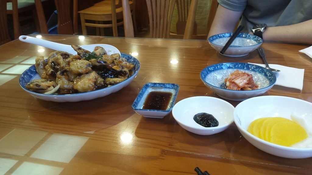 """Photo of Gawon - 가원  by <a href=""""/members/profile/Cameron2786"""">Cameron2786</a> <br/>Mushroom tangsuyuk  <br/> August 8, 2016  - <a href='/contact/abuse/image/75135/166930'>Report</a>"""