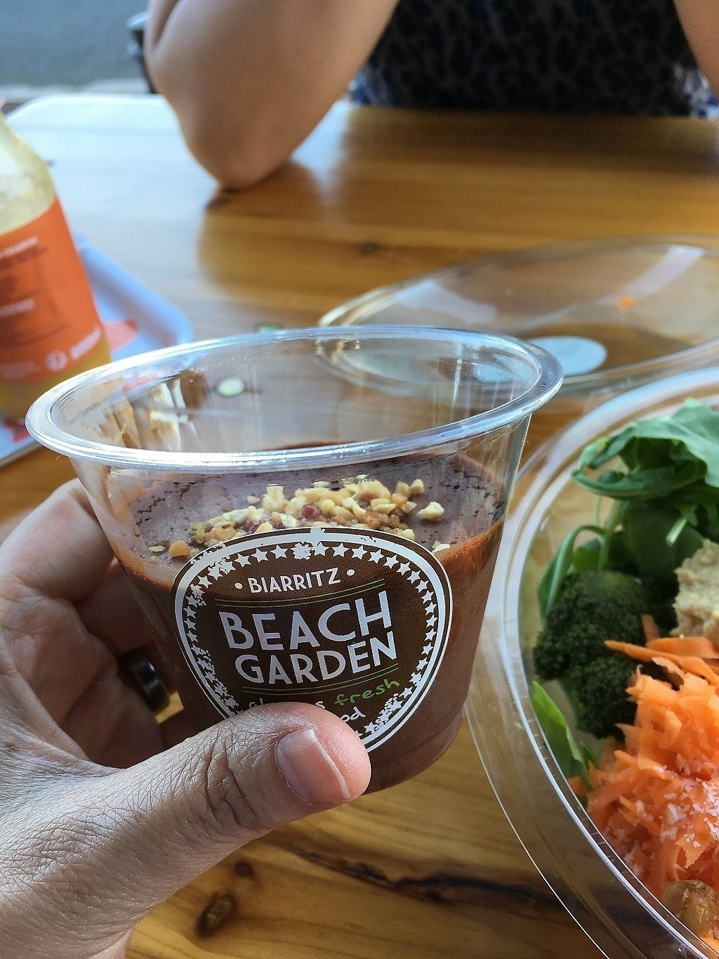 """Photo of Beach Garden  by <a href=""""/members/profile/vegan%20frog"""">vegan frog</a> <br/>Vegan chocolate mousse <br/> June 19, 2017  - <a href='/contact/abuse/image/75151/271084'>Report</a>"""