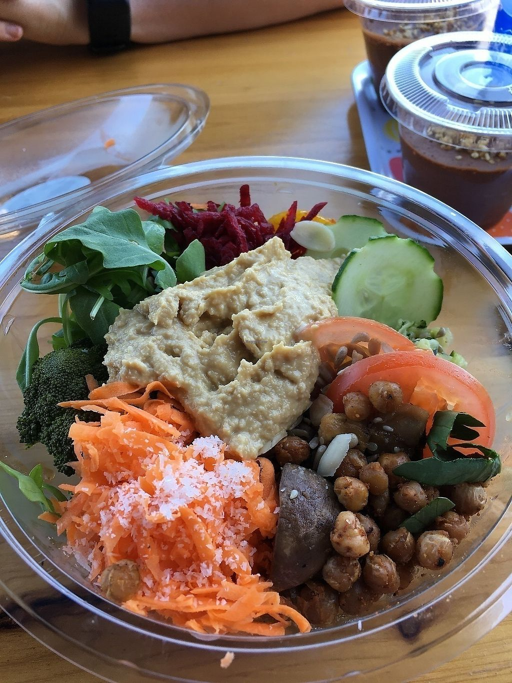 """Photo of Beach Garden  by <a href=""""/members/profile/vegan%20frog"""">vegan frog</a> <br/>Vegan salad <br/> June 19, 2017  - <a href='/contact/abuse/image/75151/271085'>Report</a>"""