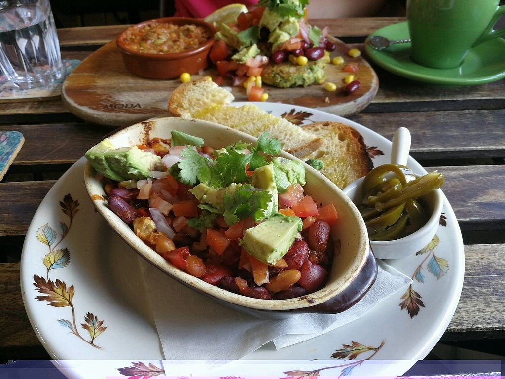 """Photo of Grace  by <a href=""""/members/profile/SigourneyPatterson"""">SigourneyPatterson</a> <br/>Foreground: Mexican Beans. Background: Zucchini Fritters  <br/> January 3, 2018  - <a href='/contact/abuse/image/75184/342395'>Report</a>"""