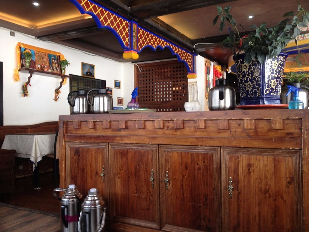 """Photo of Zong Lion Tibetan Vegetarian  by <a href=""""/members/profile/vegan_ryan"""">vegan_ryan</a> <br/>Interior of restaurant <br/> June 17, 2016  - <a href='/contact/abuse/image/75193/154448'>Report</a>"""