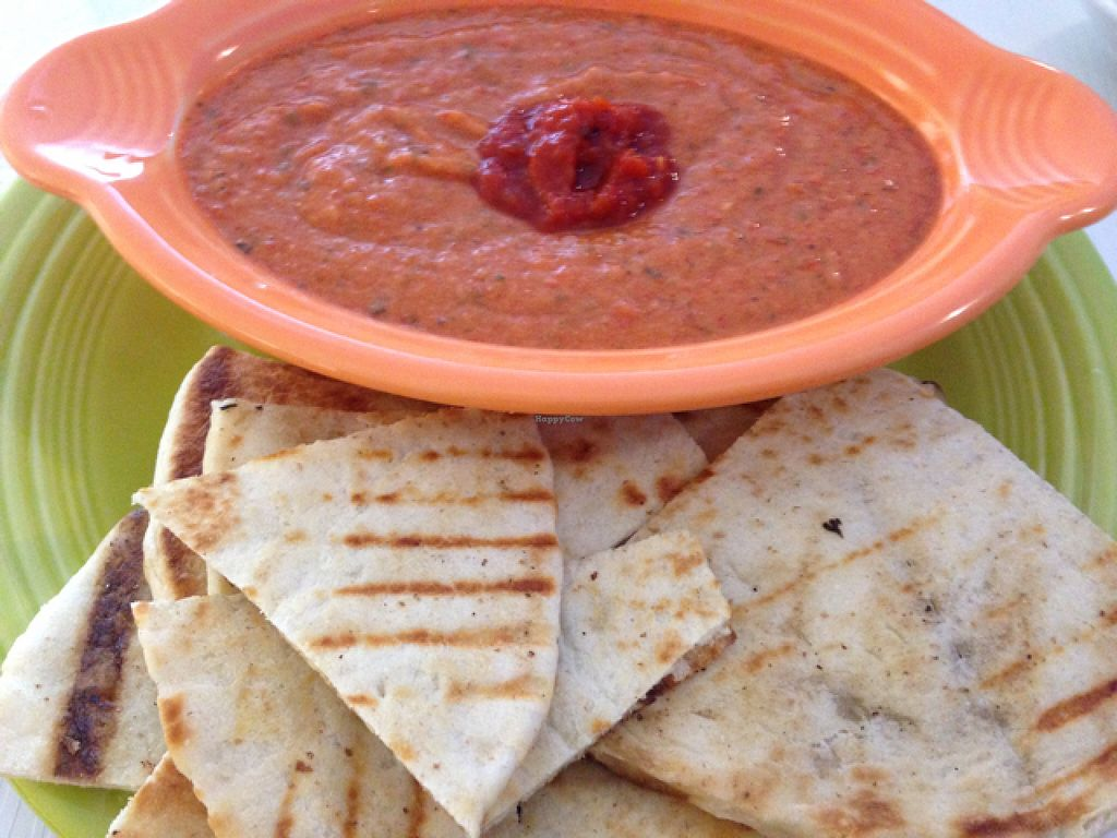 """Photo of Fresh Grill  by <a href=""""/members/profile/calamaestra"""">calamaestra</a> <br/>pita and hummus  <br/> June 16, 2016  - <a href='/contact/abuse/image/75216/154312'>Report</a>"""