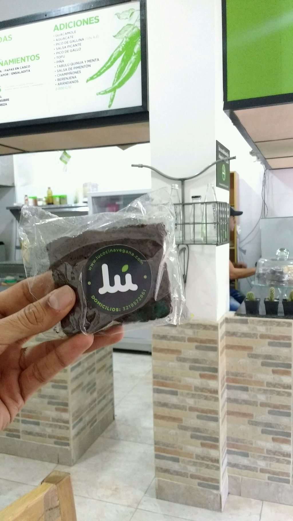 """Photo of Lu Cocina Vegana  by <a href=""""/members/profile/MaharamYoga"""">MaharamYoga</a> <br/>vegan brownies <br/> January 21, 2018  - <a href='/contact/abuse/image/75217/349487'>Report</a>"""