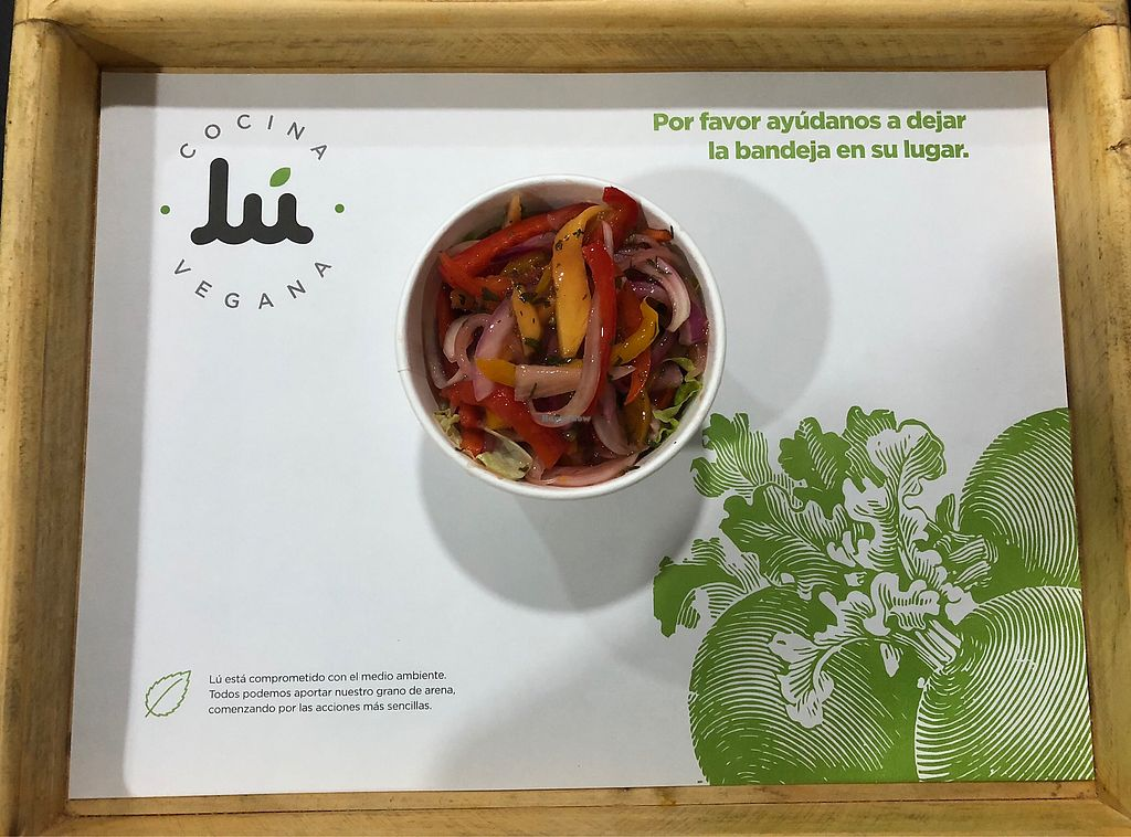 """Photo of Lu Cocina Vegana  by <a href=""""/members/profile/dee_dee"""">dee_dee</a> <br/>Mango ceviche  <br/> January 27, 2018  - <a href='/contact/abuse/image/75217/351280'>Report</a>"""