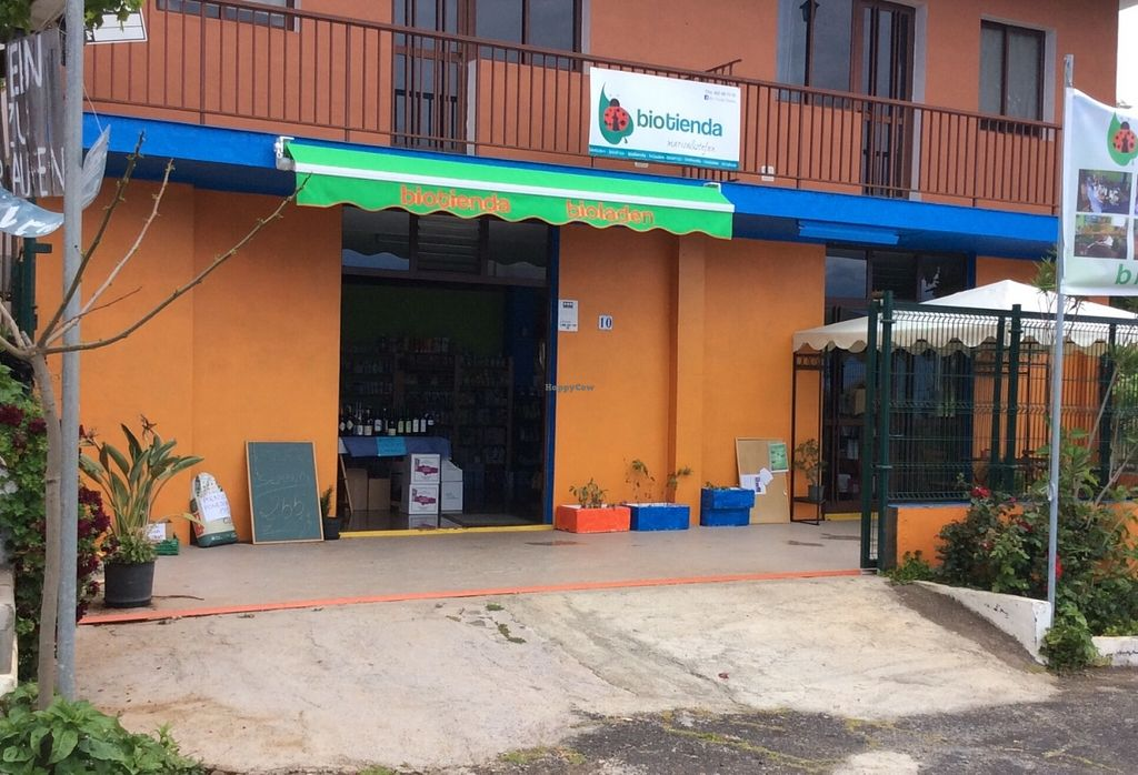 """Photo of Biotienda  by <a href=""""/members/profile/trinitybourne"""">trinitybourne</a> <br/>Excellent location on the main road  <br/> June 17, 2016  - <a href='/contact/abuse/image/75218/154450'>Report</a>"""