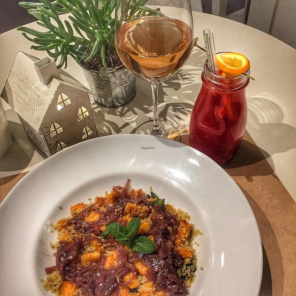 """Photo of Enjoy Coffee Bratislava  by <a href=""""/members/profile/Nikolate"""">Nikolate</a> <br/>quinoa with sweet potatto salad <br/> October 6, 2017  - <a href='/contact/abuse/image/75239/312198'>Report</a>"""