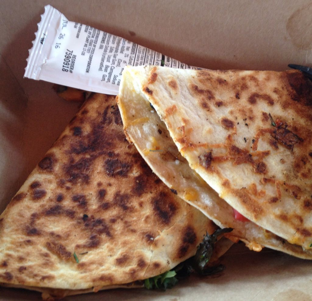 "Photo of Finn's Island Style Grub  by <a href=""/members/profile/sophiefrenchfry"">sophiefrenchfry</a> <br/>veggie quesadilla <br/> June 25, 2016  - <a href='/contact/abuse/image/75243/156009'>Report</a>"
