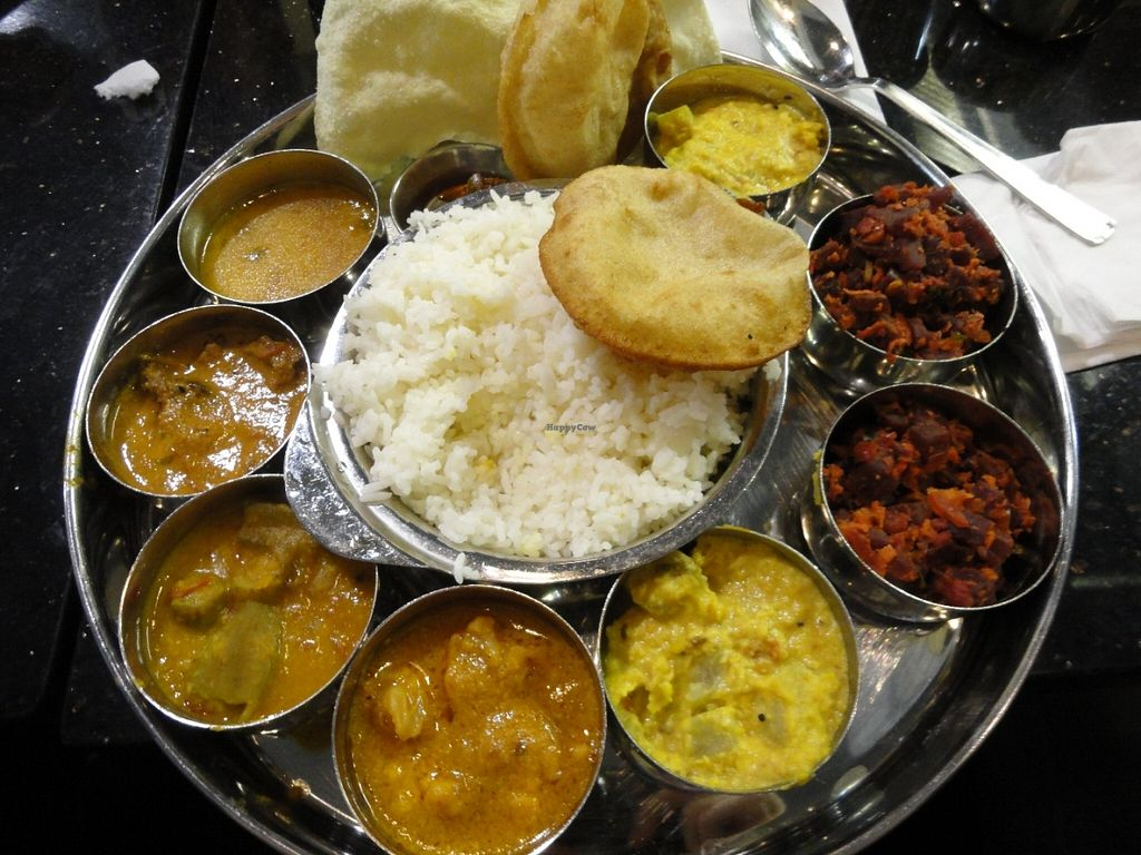 """Photo of Saravanaa Bhavan  by <a href=""""/members/profile/Eepie"""">Eepie</a> <br/>Nr. 91 (ask for the vegan version) <br/> June 20, 2016  - <a href='/contact/abuse/image/75244/154998'>Report</a>"""