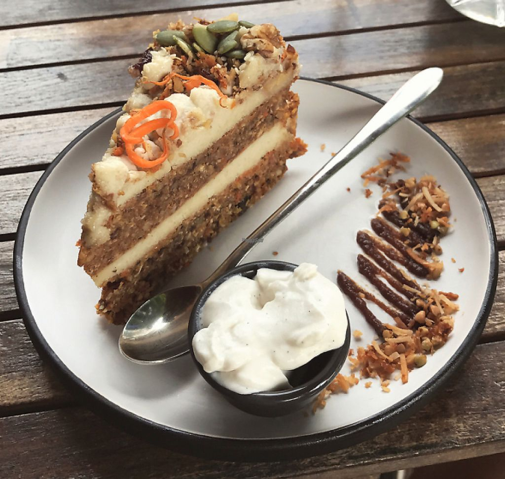 "Photo of Kimnat Little Market & Cafe  by <a href=""/members/profile/LilyBlandford"">LilyBlandford</a> <br/>multi layer carrot cake w/ co-yo on the side  <br/> April 22, 2017  - <a href='/contact/abuse/image/75265/254686'>Report</a>"