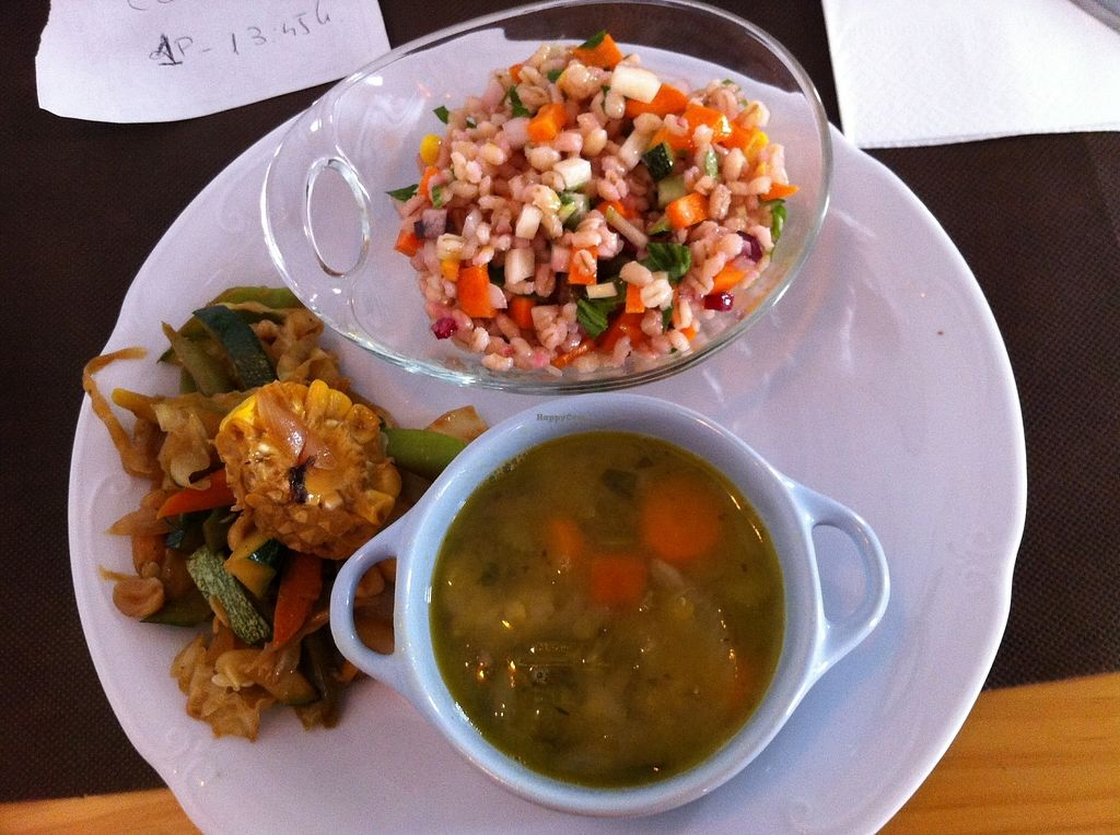 """Photo of La Rogeta Cuina Vegana  by <a href=""""/members/profile/Vegane_Globetrotterin"""">Vegane_Globetrotterin</a> <br/>main course <br/> July 2, 2017  - <a href='/contact/abuse/image/75267/275895'>Report</a>"""
