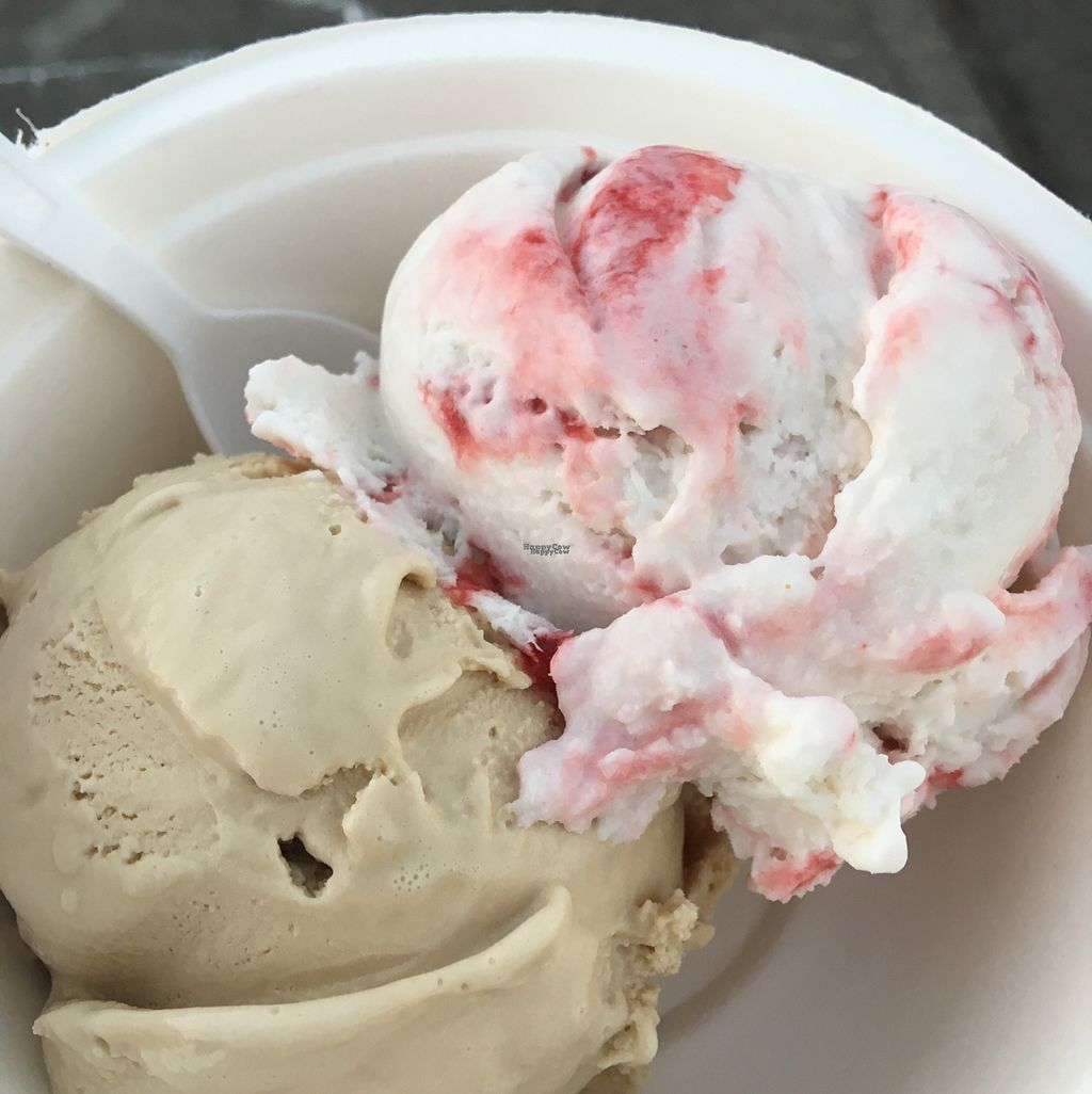 """Photo of Hurry Back Ice Cream - Food Truck  by <a href=""""/members/profile/Arthousebill"""">Arthousebill</a> <br/>French Roast and seasonal flavors <br/> September 9, 2016  - <a href='/contact/abuse/image/75271/174727'>Report</a>"""