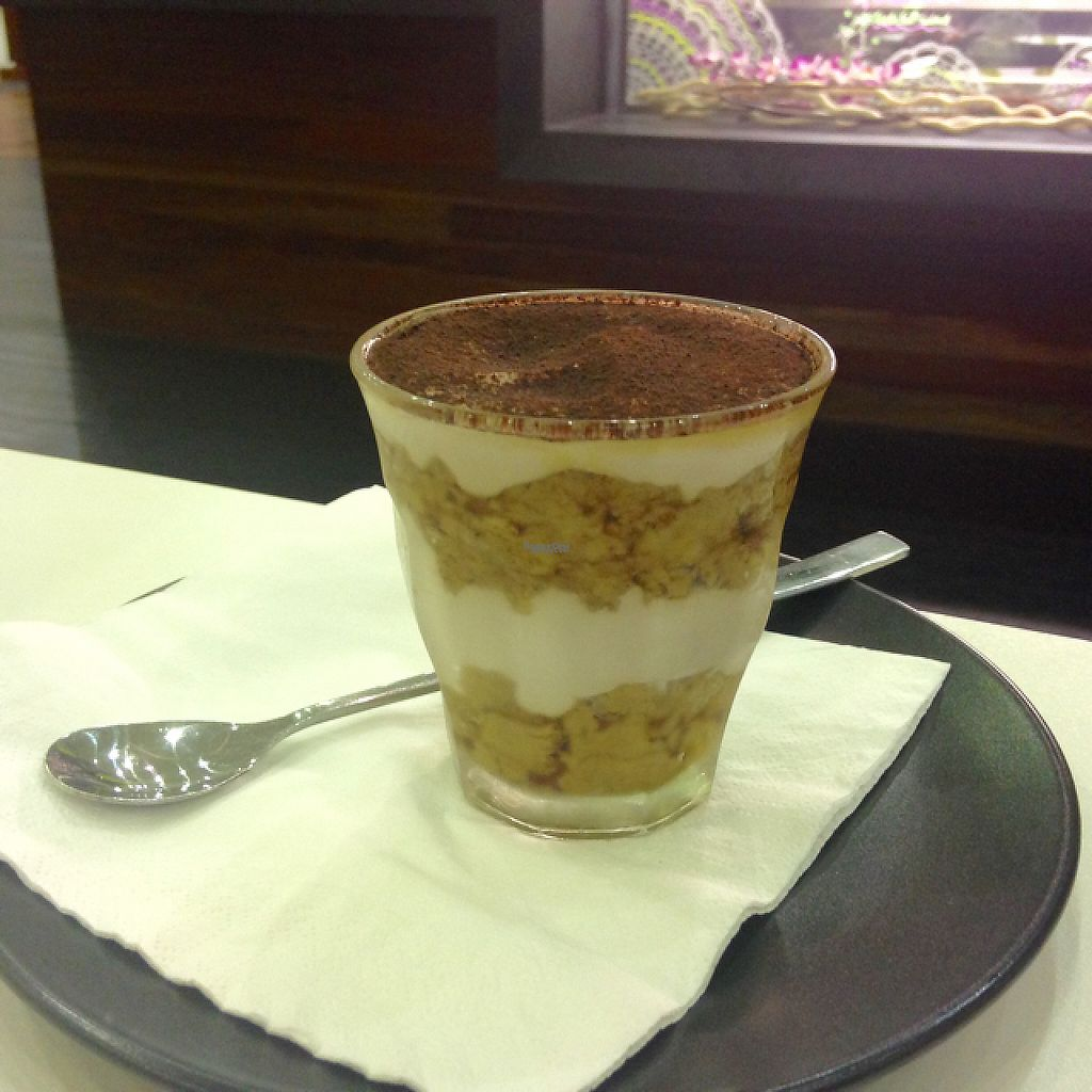 """Photo of Cheeky Yam  by <a href=""""/members/profile/JuliasJourney"""">JuliasJourney</a> <br/>vegan tiramisu - delicious! <br/> January 4, 2017  - <a href='/contact/abuse/image/75275/207866'>Report</a>"""